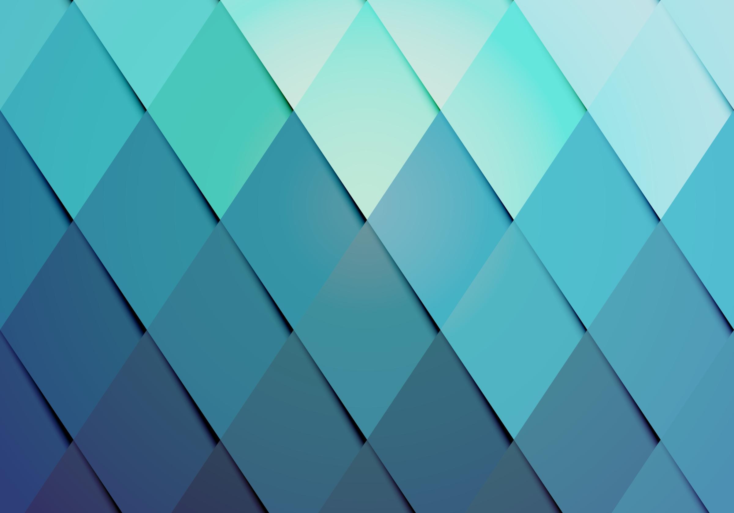 background teal diamonds